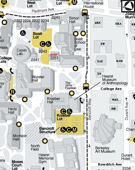 Where do I park Home of Archaeology at Berkeley